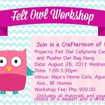Who Who Who wants a #Crafternoon?