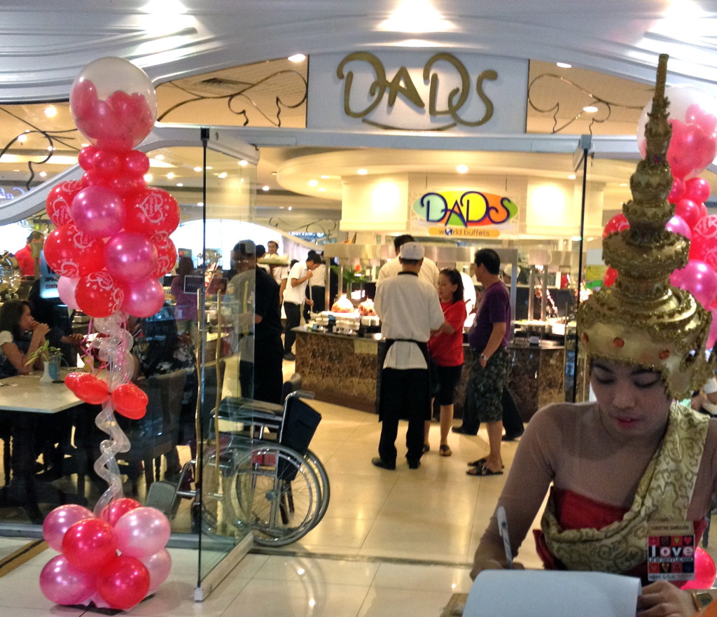 Dad's is an institution in Megamall.