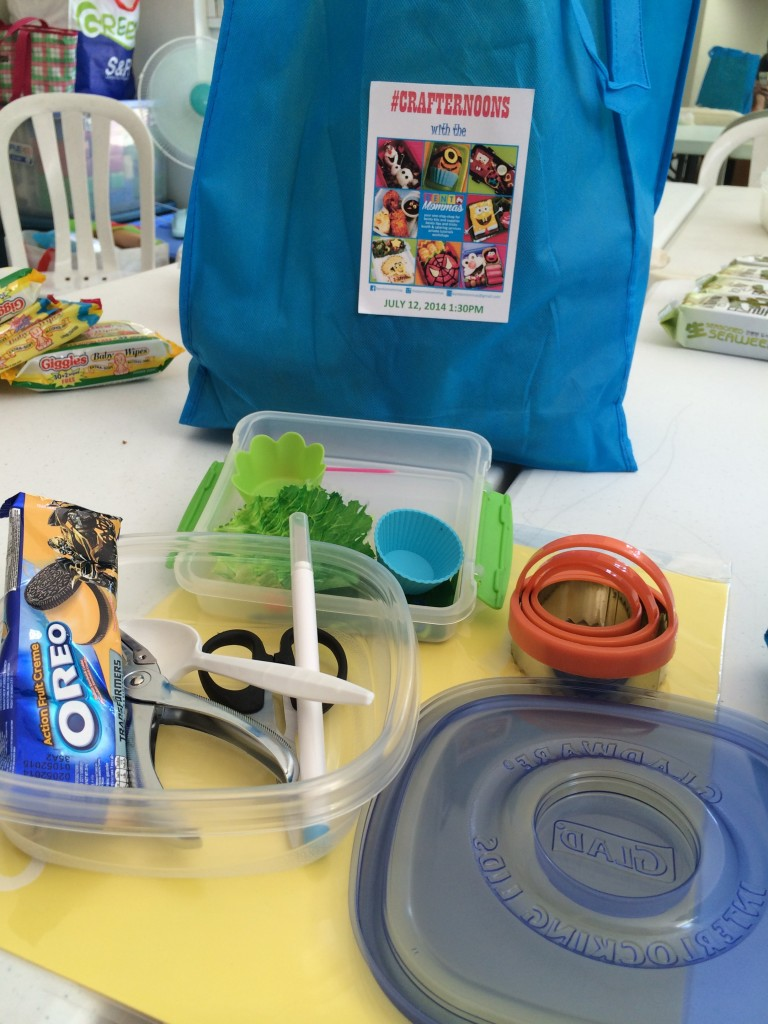 Inclusive of the fee that every participant paid was a kit. This kit is a fantastic beginners kit because it really has everything you would want to get started with your Bento Making.
