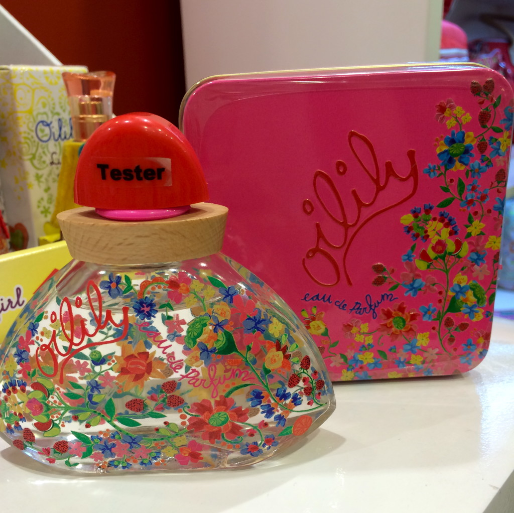 Oilily has scents that are light enough for your little girl, and others that are good for you to wear. Again, I love the packaging for this scent.