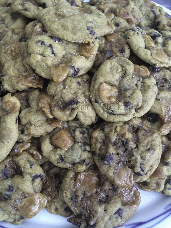 And the WINNER of the Rainy Day Cookie Swap:  Salted Caramel Chocolate Chip Cookies