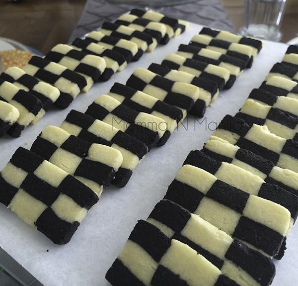 Martha Stewart Checkerboard Cookies