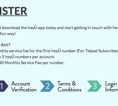 PLDT hey U Android App-A new way for families to communicate