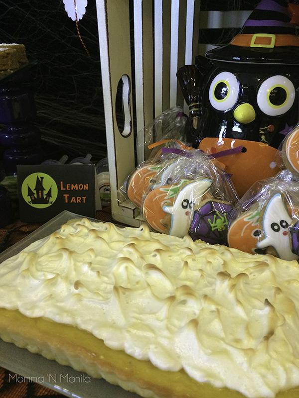 Lemon Tart made by Gia. She used Ina Garten's recipe.