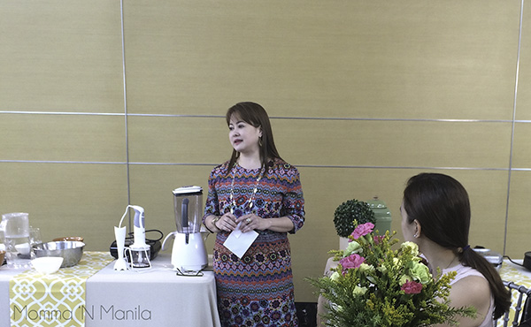 """Managing Partner Beverly Ong Campos explained to us how the appliances came about. She also shared that my pronunciation of Braun should actually be pronounced like """"Brown."""""""