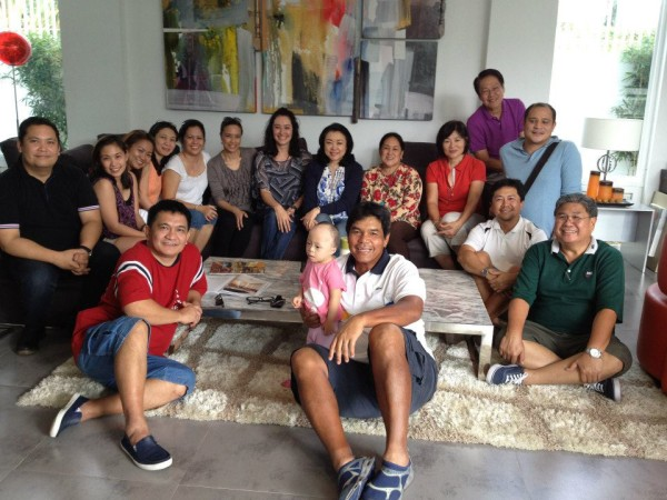 Together with the board of DSAPI in one of the member's homes. Photo Credit: Agnes De Lapena